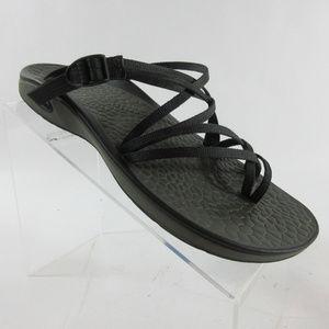 Chaco Sleet Adjustable Slide Toe Loop Sandals